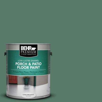 1 gal. #S410-6 Greener Pastures Low-Lustre Porch and Patio Floor Paint