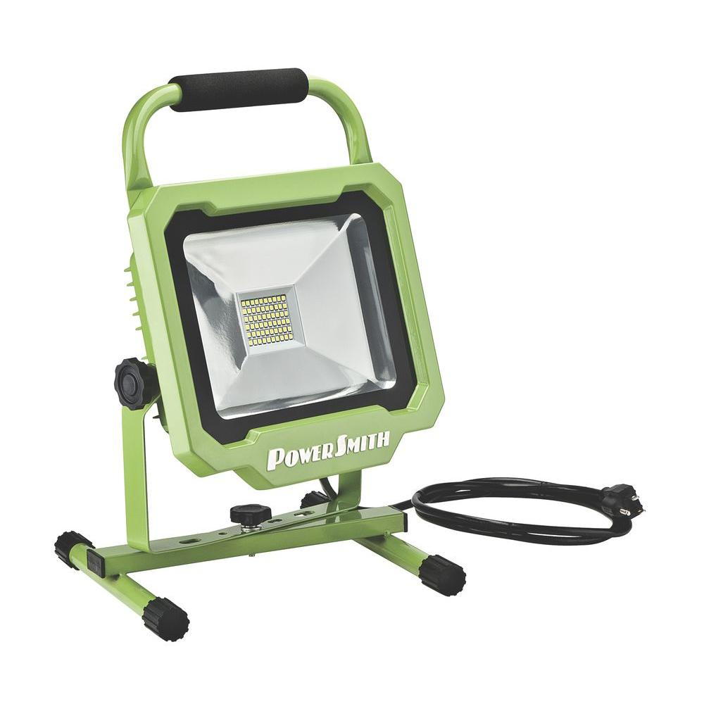 Portable - Clamp On, Hand Helds & Stand-Up - Work Lights - The Home ...