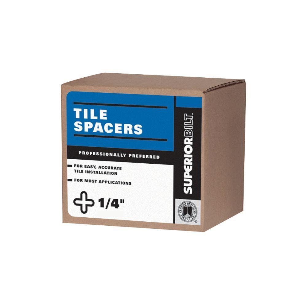 SuperiorBilt ProBilt Series 1/4 in. Regular Long Spacer Box (450 pack)