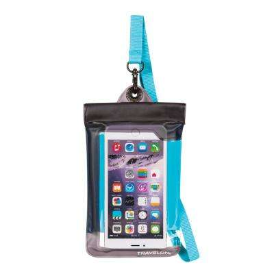 Blue Waterproof Smart Phone Pouch