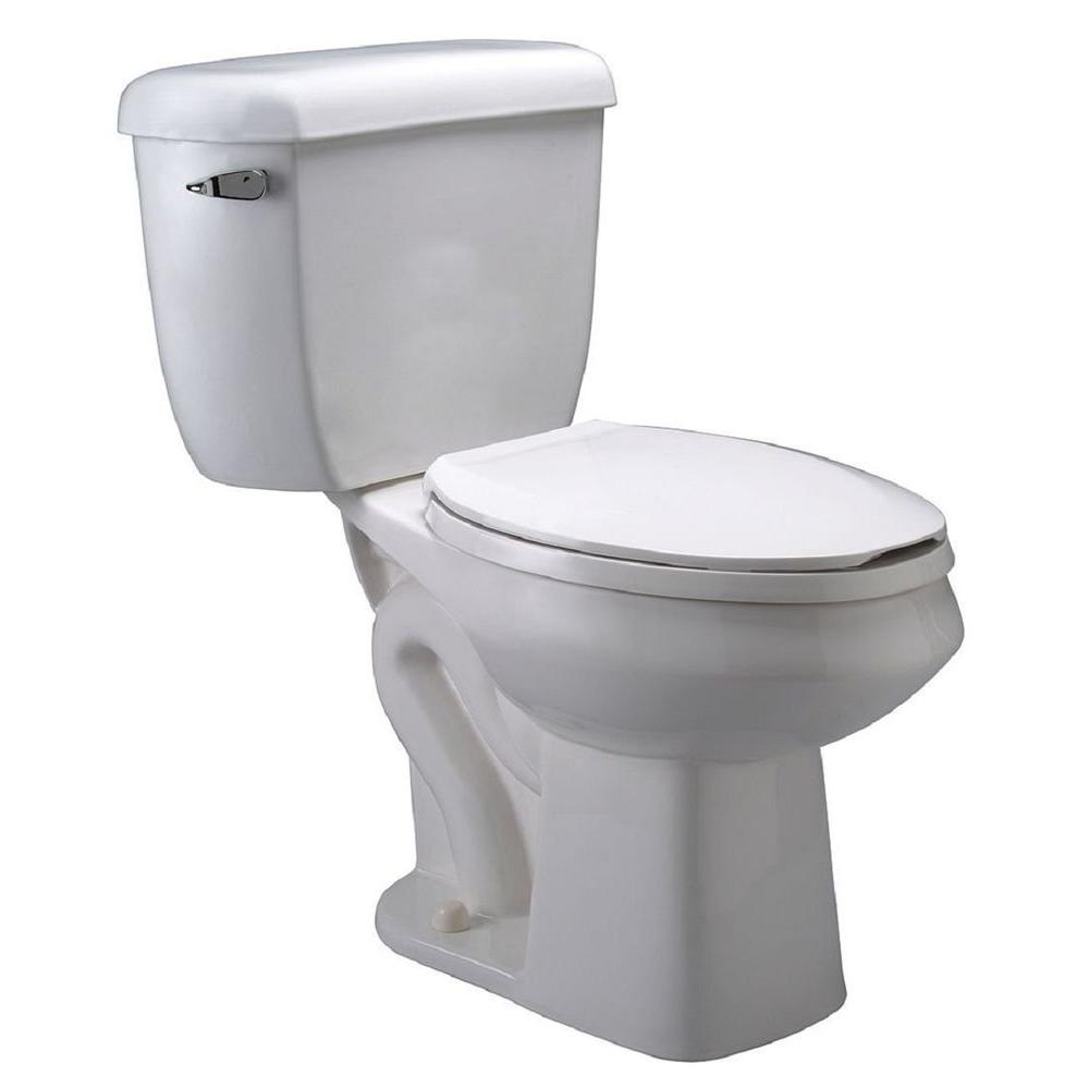 Zurn Pressure Assist Dual Flush GPF Elongated Two-Piece Toilet Z5572