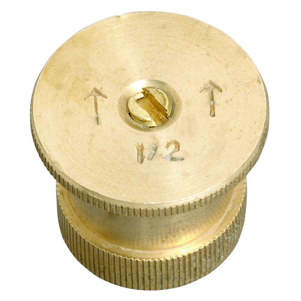 15 ft. 1/2 Pattern Brass Twin Spray Nozzle