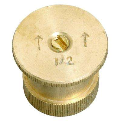 15 ft. 1/2 Pattern Brass Twin Spray Nozzle