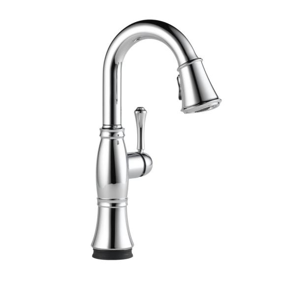 Cassidy Touch Single-Handle Bar Faucet in Lumicoat Chrome