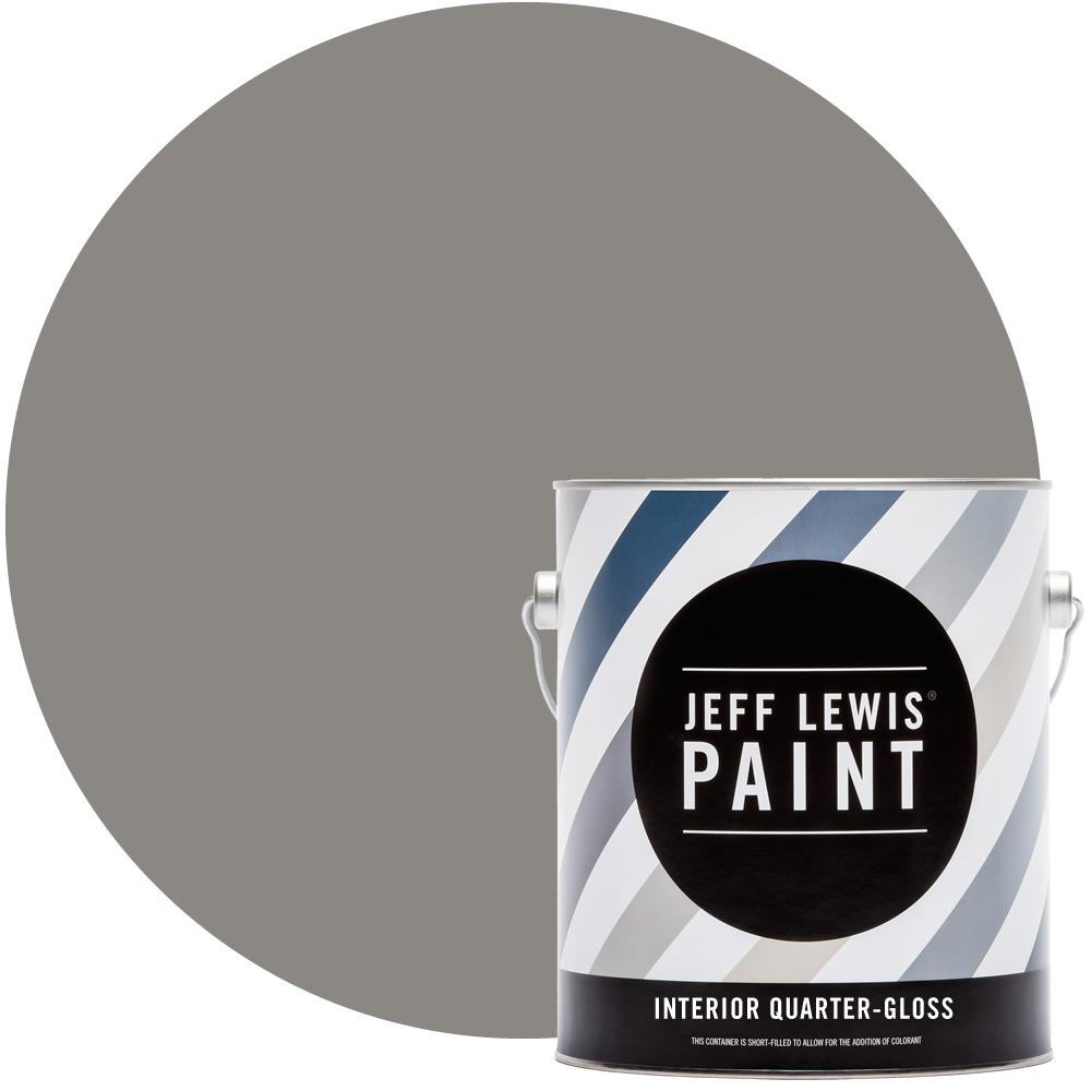 Jeff Lewis 1 gal. #418 Mineral Quarter-Gloss Interior Paint