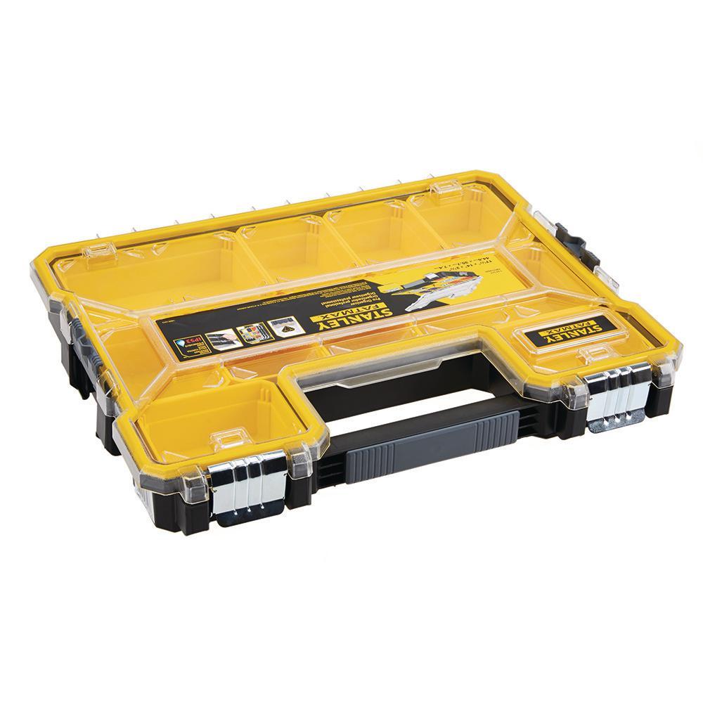 FATMAX 10-Compartment Shallow Pro Small Parts Organizer