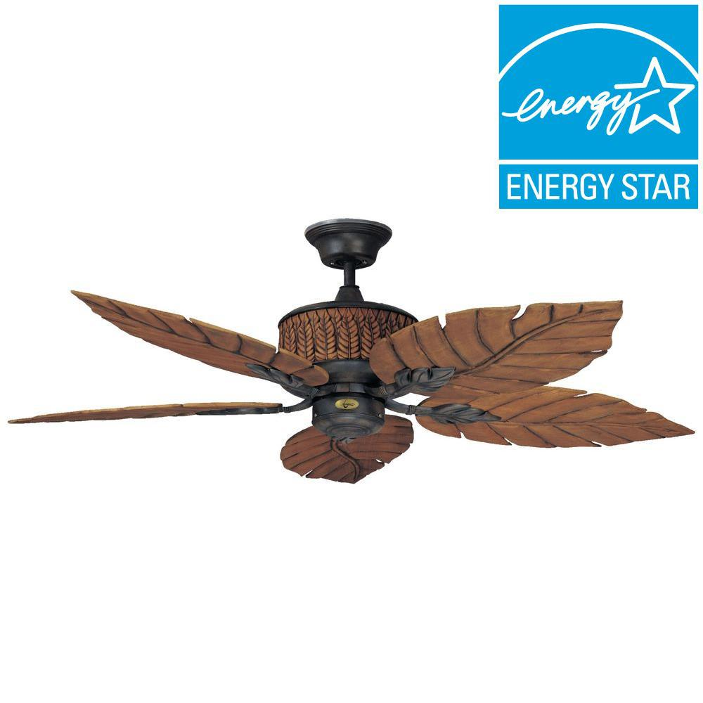 f50a83b2784 Concord Fans Concord 52 in. Indoor Outdoor Rustic Iron Ceiling Fan ...