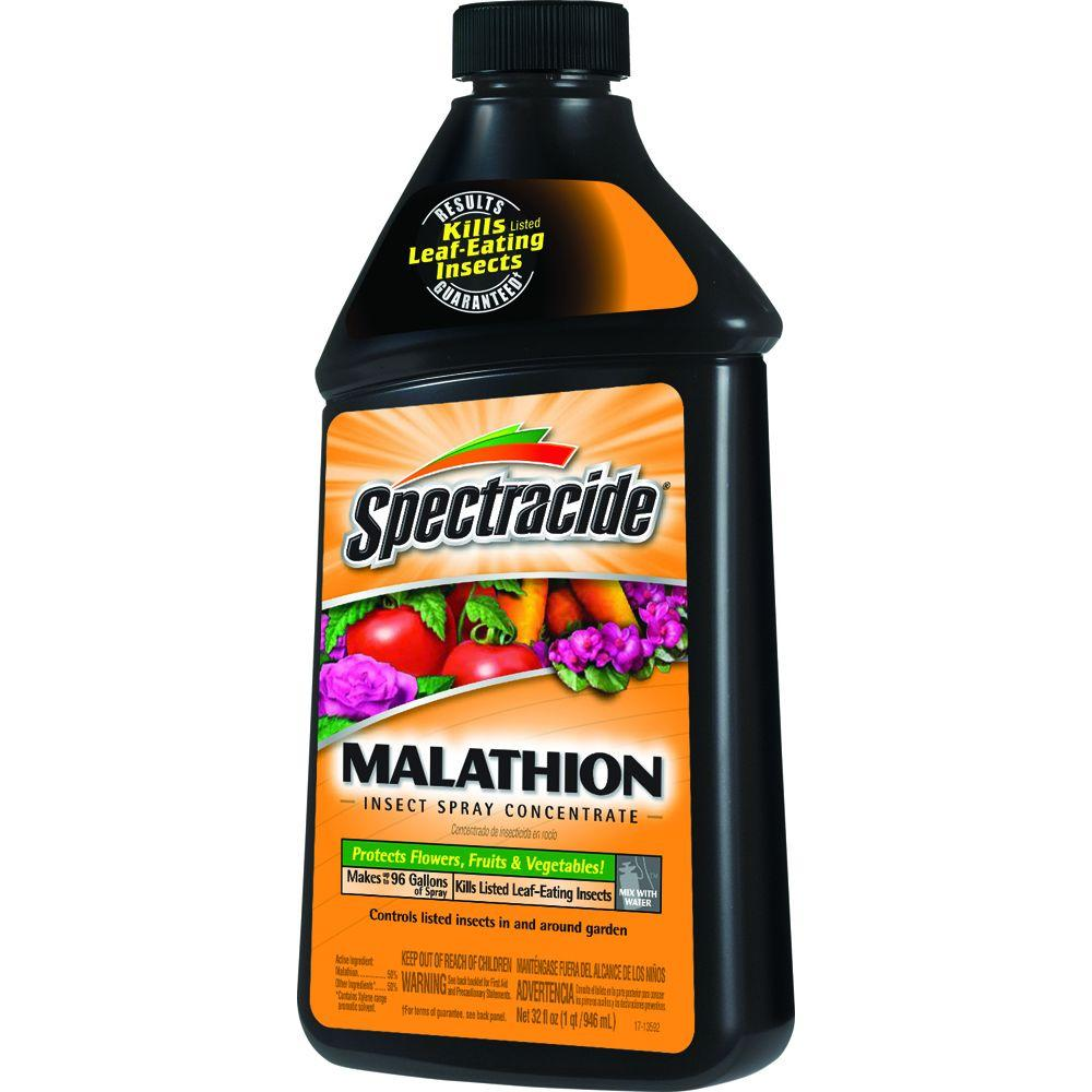 Spectracide 32 Fl Oz Malathion Concentrate Hg 30900 3