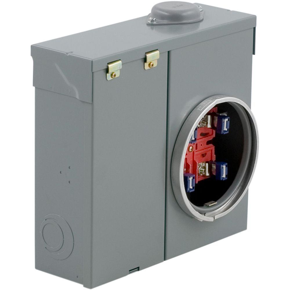 Square D 200 Amp Overhead/Underground Meter Socket CSED