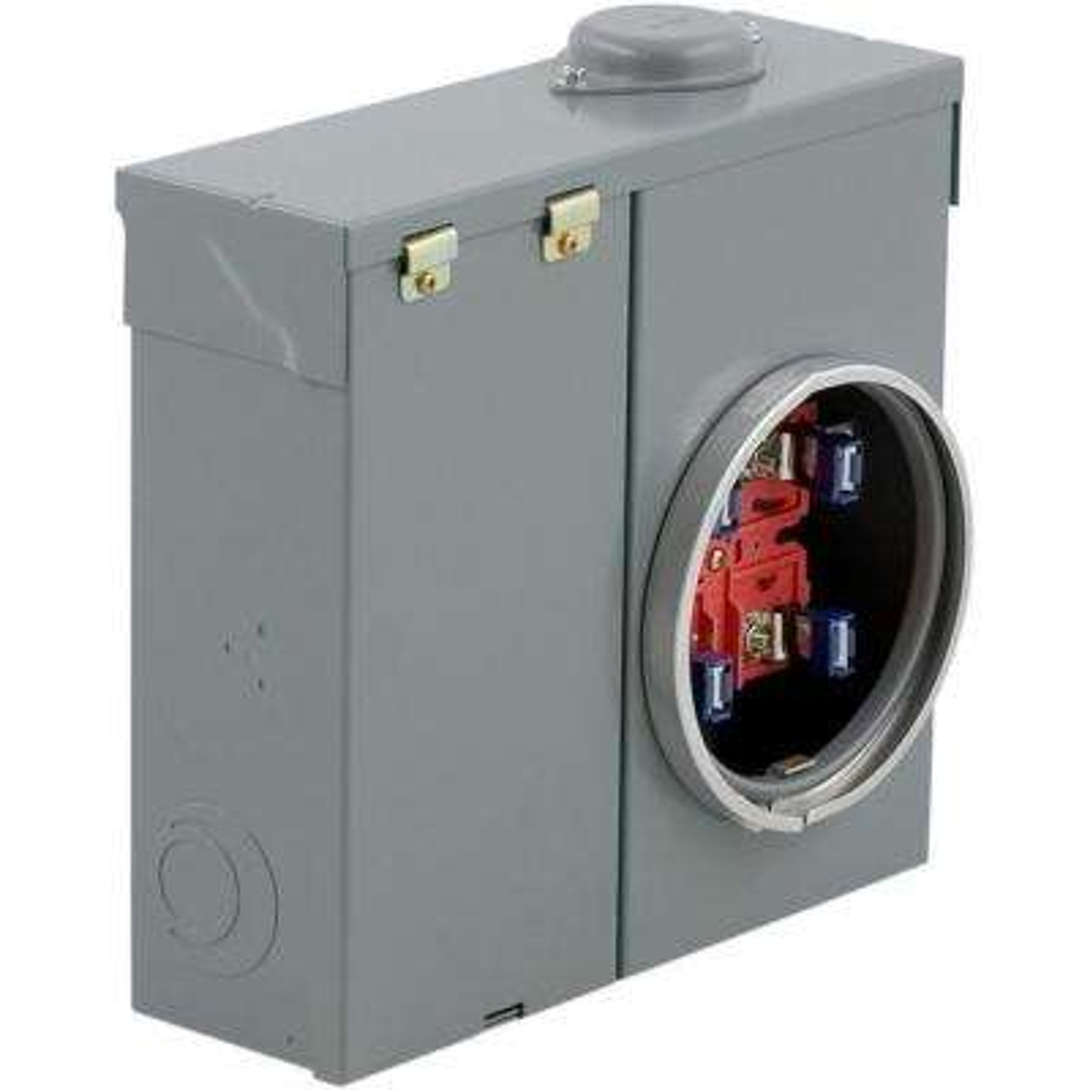 200 Amp Ring-Type Overhead or Underground Meter Socket