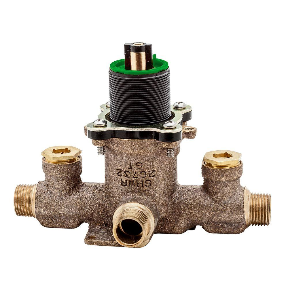 Pfister Single Control Pressure Balance Tub and Shower Valve with ...
