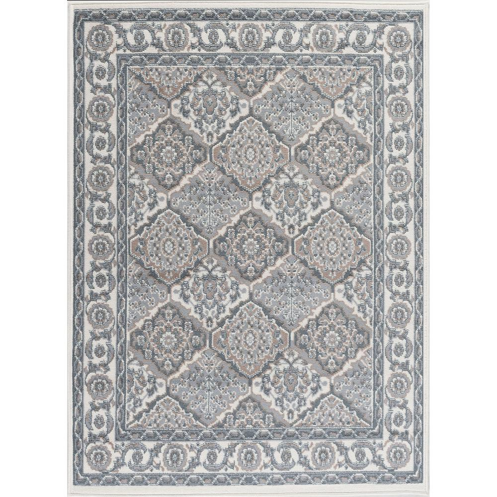 Tayse Rugs Hampton Traditional Cream 4 Ft X 5 Ft Area Rug Hmp4217