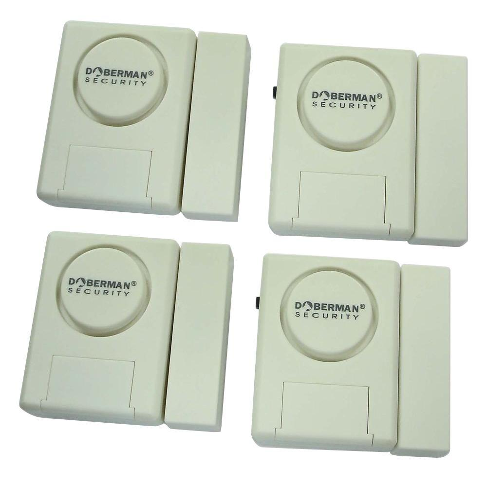 Home Security Window/Door Alarm Kit (4-Pack)