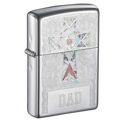Zippo Cross Design Father's Day Lighter