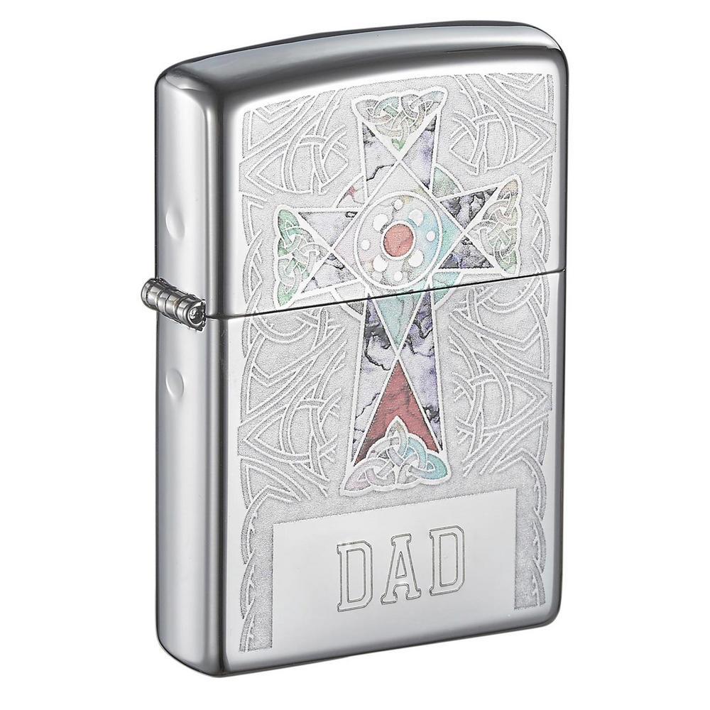 Zippo Cross Design Father's Day Lighter
