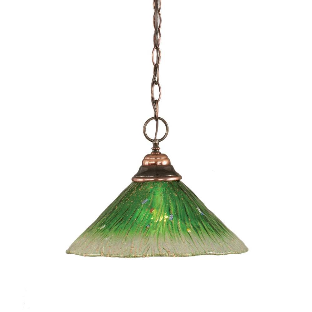 sc 1 st  The Home Depot & Green - Pendant Lights - Lighting - The Home Depot azcodes.com