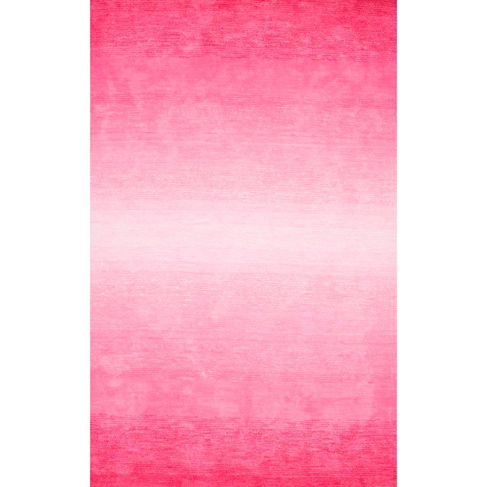 NuLOOM Ombre Bernetta Pink 5 Ft. X 8 Ft. Area Rug-AWVE18C