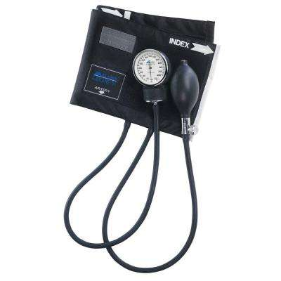 Legacy Aneroid Sphygmomanometers with Black Nylon Cuff for Adult