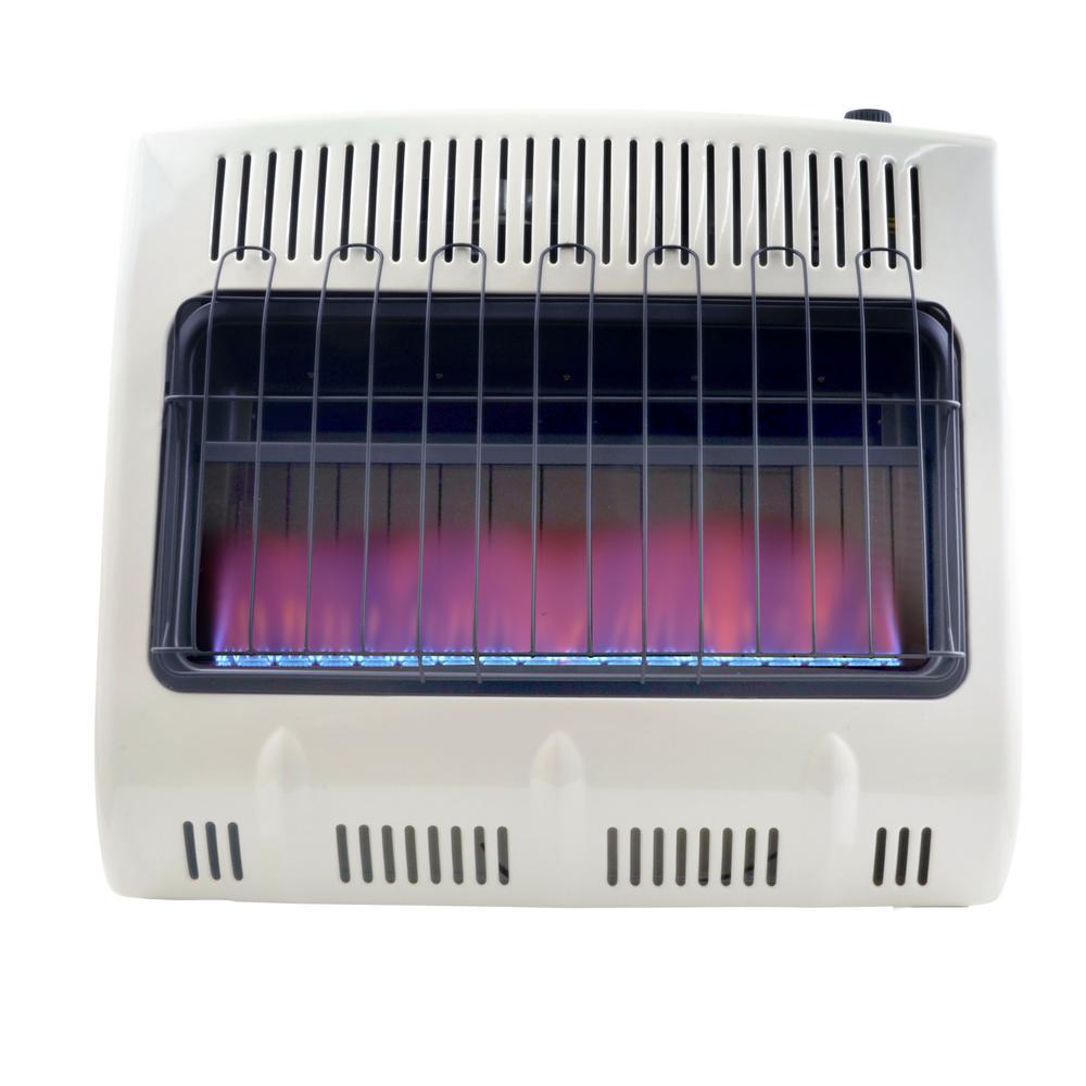 30,000 BTU Vent Free Blue Flame Propane Heater
