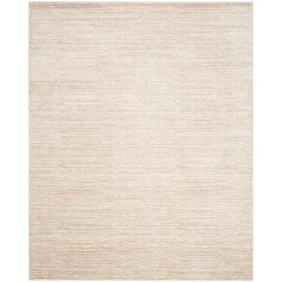Vision Cream 9 ft. x 12 ft. Area Rug