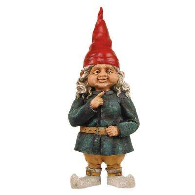 Superbe 32 In. Zelda The Gnome Woman Garden Statue