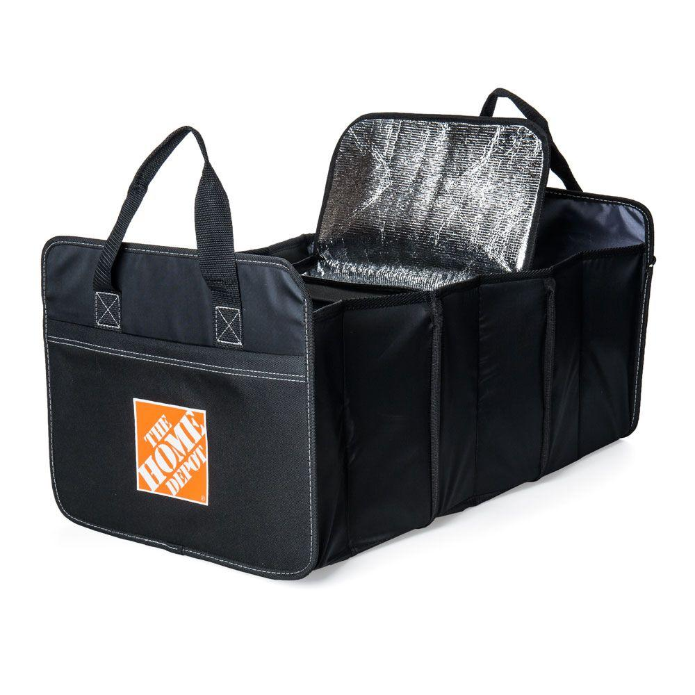 Black Trunk Organizer and Cooler