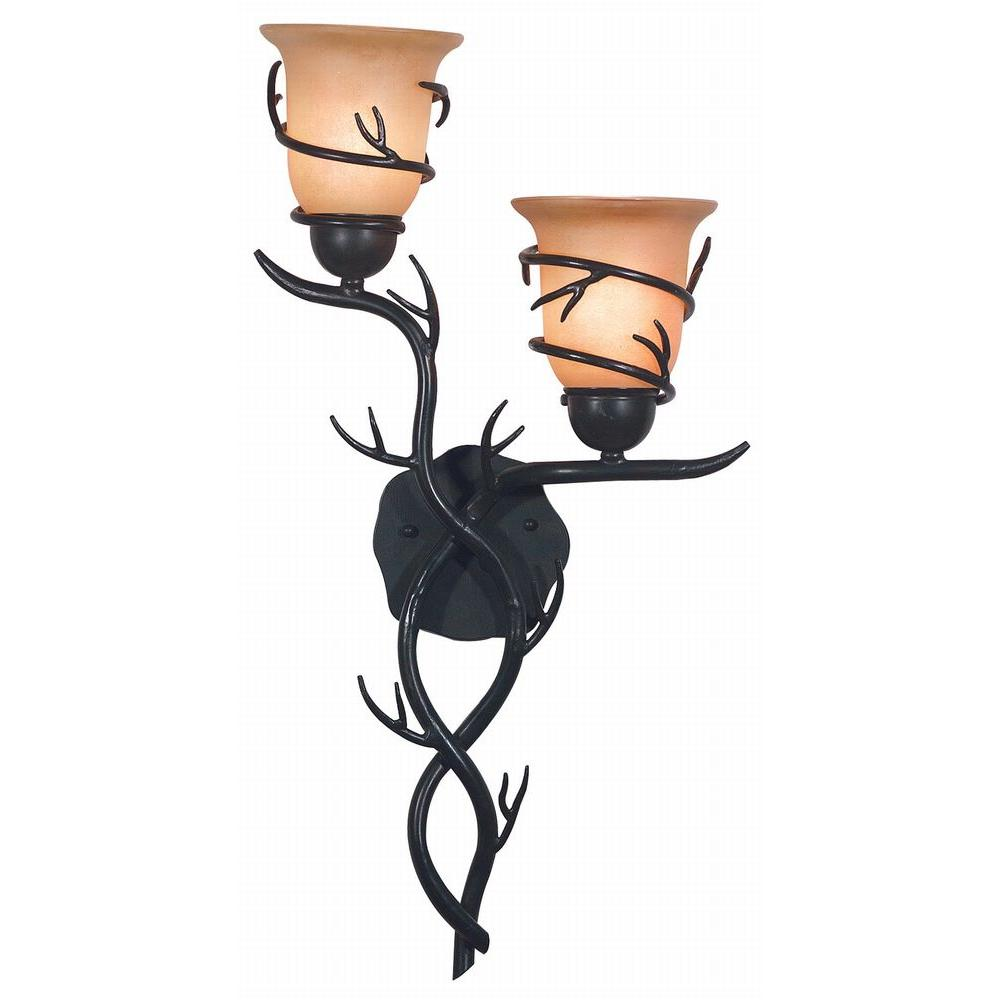 Kenroy Home Twigs 2 Light Bronze Sconce 92136BRZ
