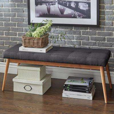 Nobleton Dark Grey Bench