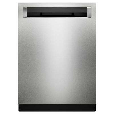 24 in. Top Control Built-In Tall Tub Dishwasher in PrintShield Stainless with Third Level Rack
