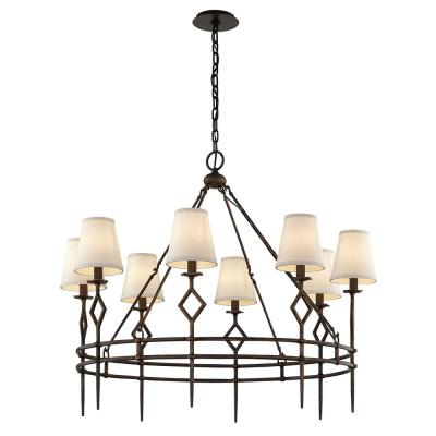 Maurice 8-Light Chandelier - Pompeii Bronze