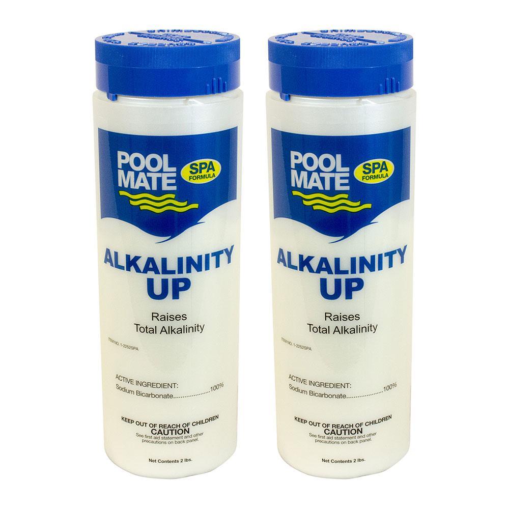 Pool Mate Spa and Hot Tub 2 lb. Alkalinity Increaser (2-Pack)-1 ...