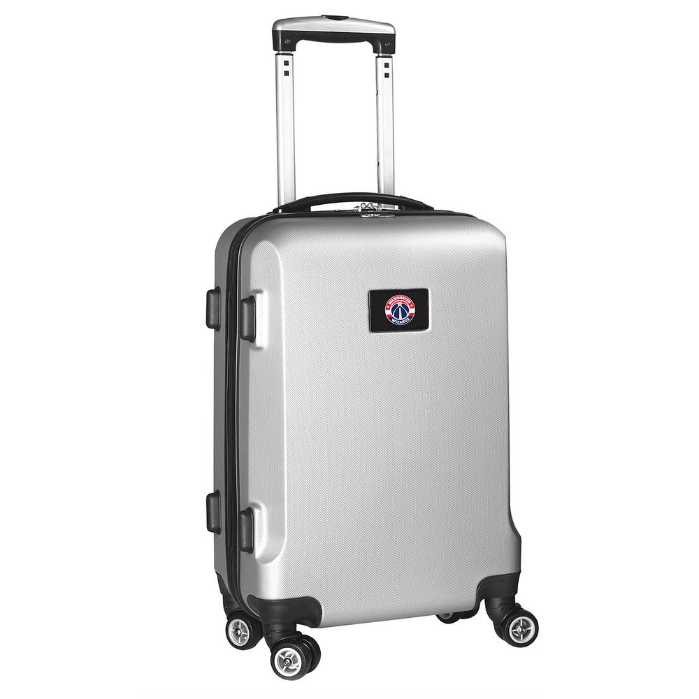 DENCO NBA Washington Wizards 21 in. Silver Carry-On Hardc...