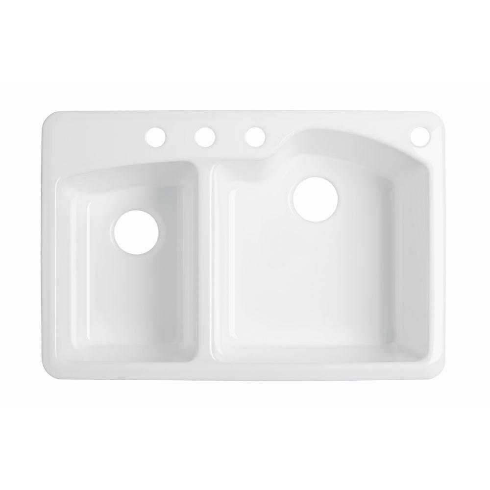 KOHLER - Drop-in Kitchen Sinks - Kitchen Sinks - The Home Depot