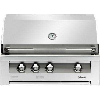 36 in. Built-In Natural Gas Grill in Stainless