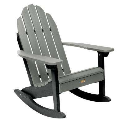 Essential Flint Recycled Plastic Outdoor Adirondack Rocking Chair
