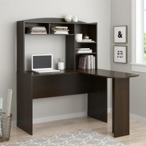 Altra Furniture Sutton Espresso Desk with Hutch by Altra Furniture
