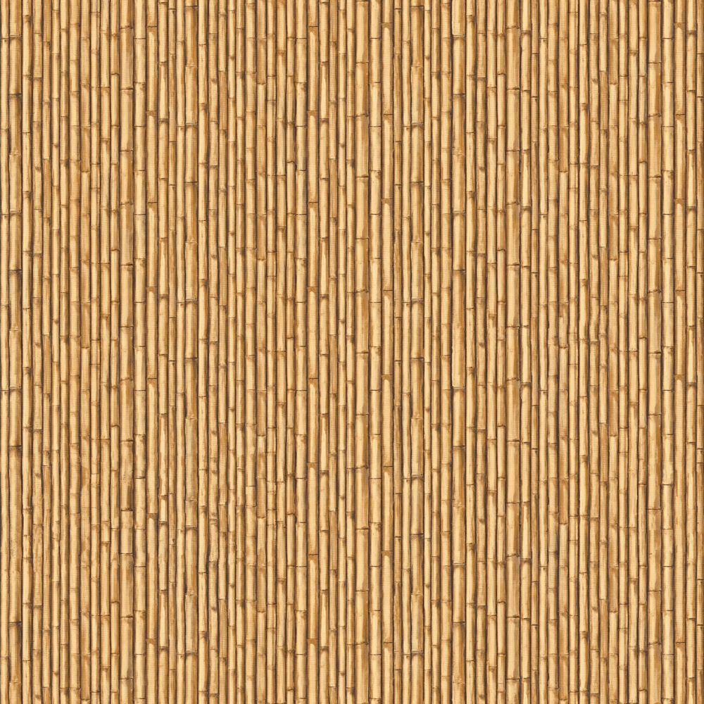 York Wallcoverings 56 sq. ft. Bamboo Curtain Wallpaper-DISCONTINUED