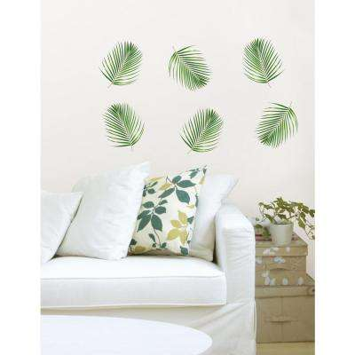 34.5 in. x 39 in. Fronds Wall Decal