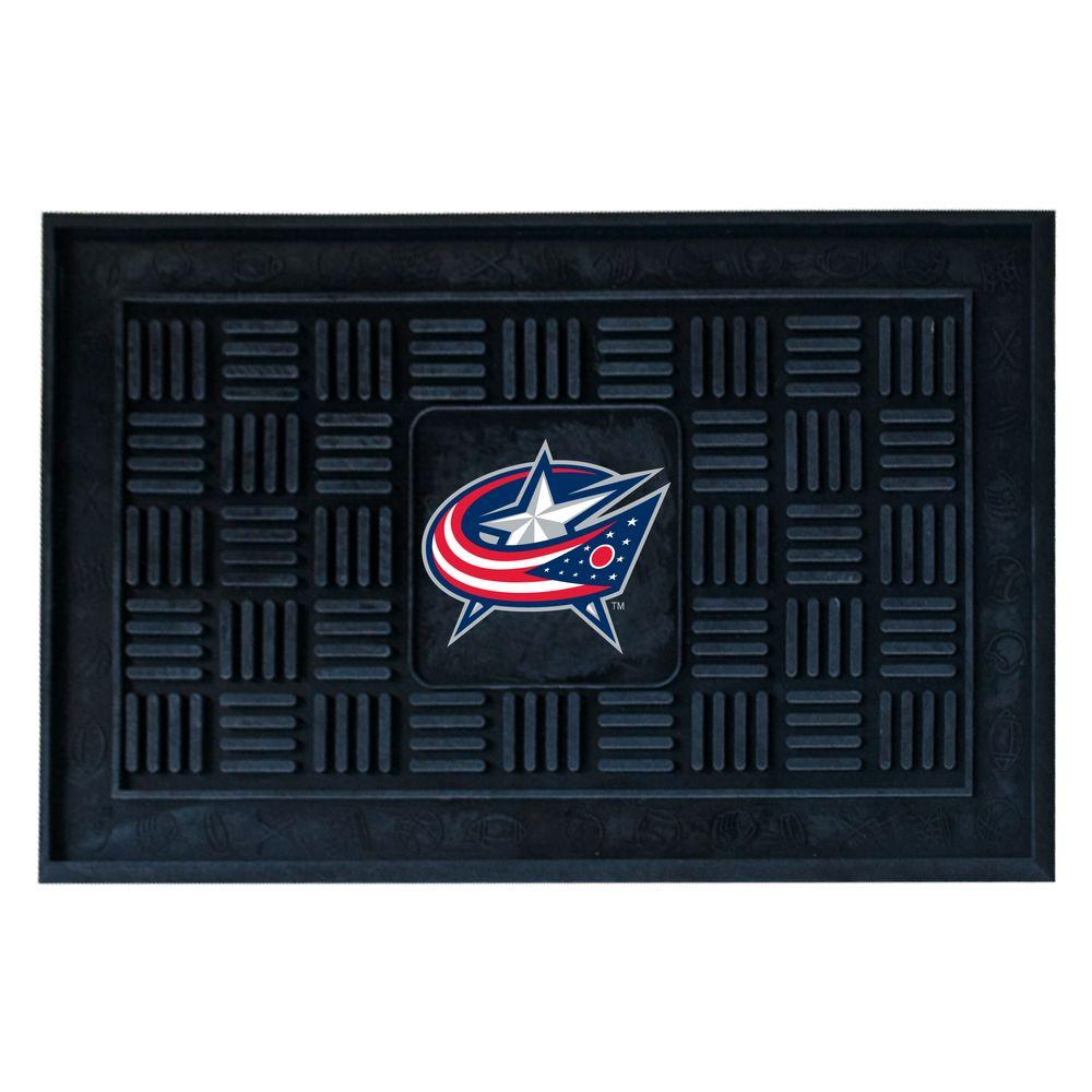 Columbus Blue Jackets 18 in. x 30 in. Door Mat