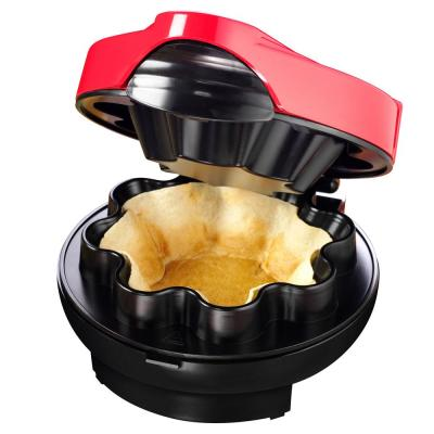 100 sq. in. Red Tortilla Bowl Maker with Indicator Lights