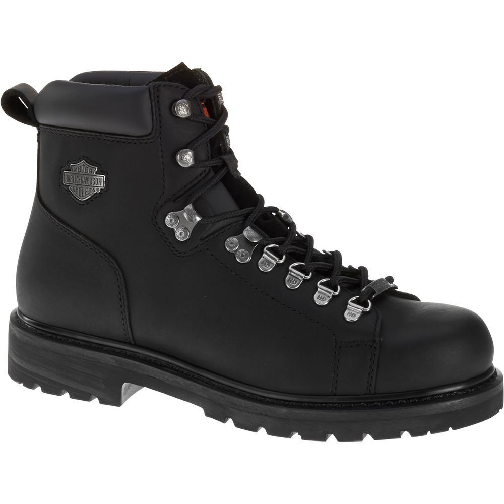 d3eae6fa8f28a8 Harley-Davidson Dipstick Men s 10.0 W Black Steel Toe Boot-D91630 ...