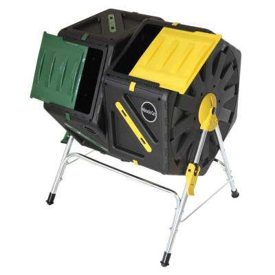 37 Gal. Dual Chamber Tumbling Composter