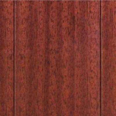 Take Home Sample - High Gloss Santos Mahogany Click Lock Hardwood Flooring - 5 in. x 7 in.