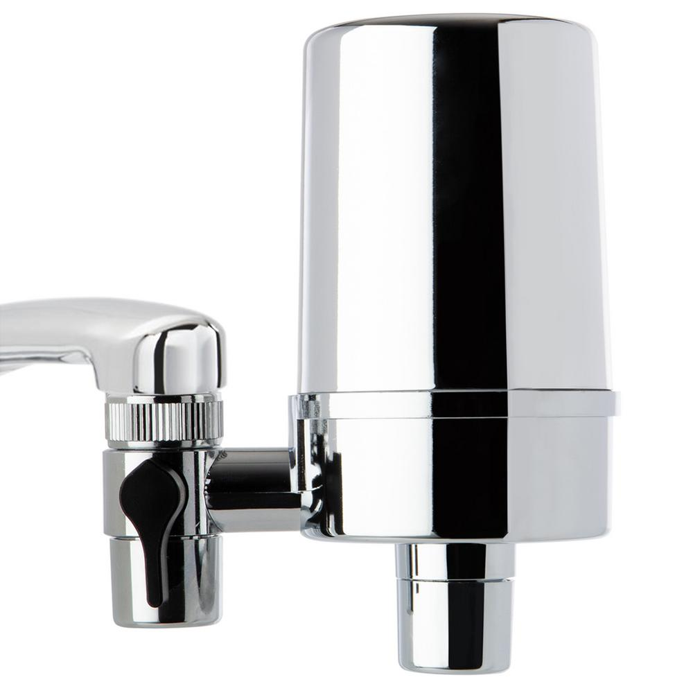 Brilliant Ispring Df2 Series 500 Gal Faucet Mount Water Filtration System Bpa Free Chrome Finish Home Interior And Landscaping Ponolsignezvosmurscom