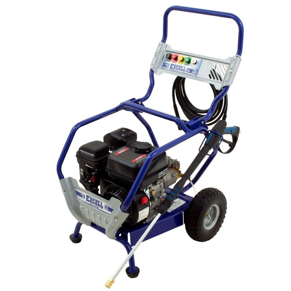 Excell 3100-PSI 2.8-GPM Gas Pressure Washer