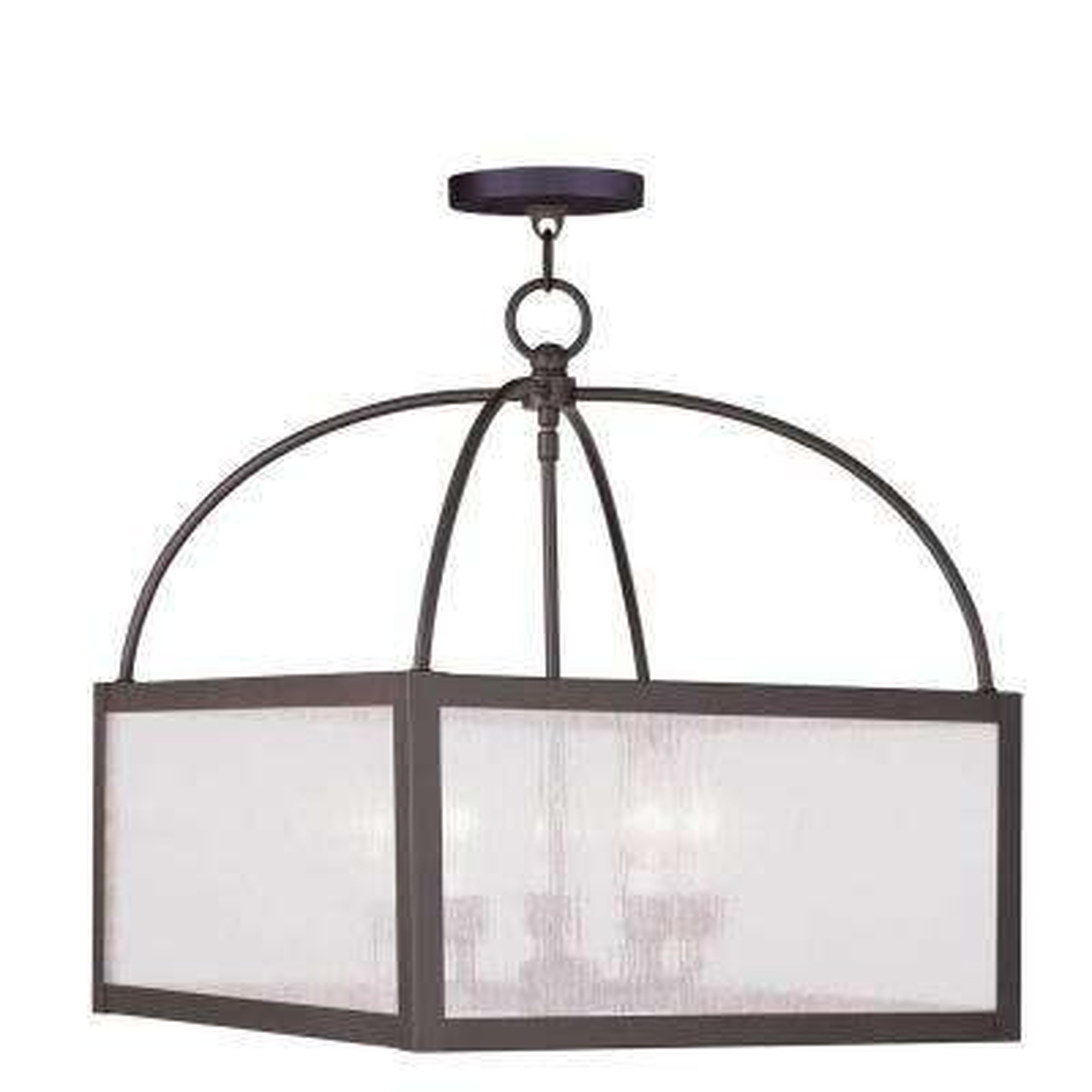 Providence 5-Light Bronze Incandescent Ceiling Pendant