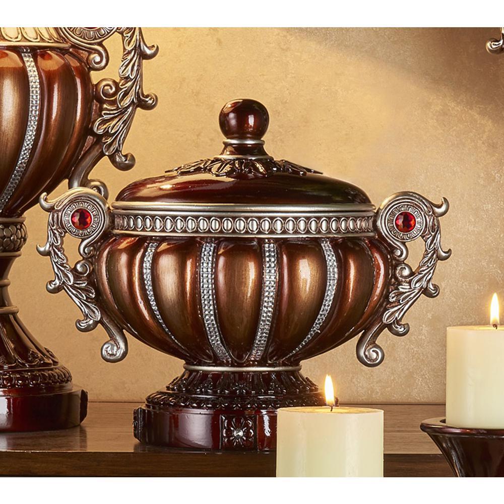 Delicata Bronze Decorative Jewelry Box