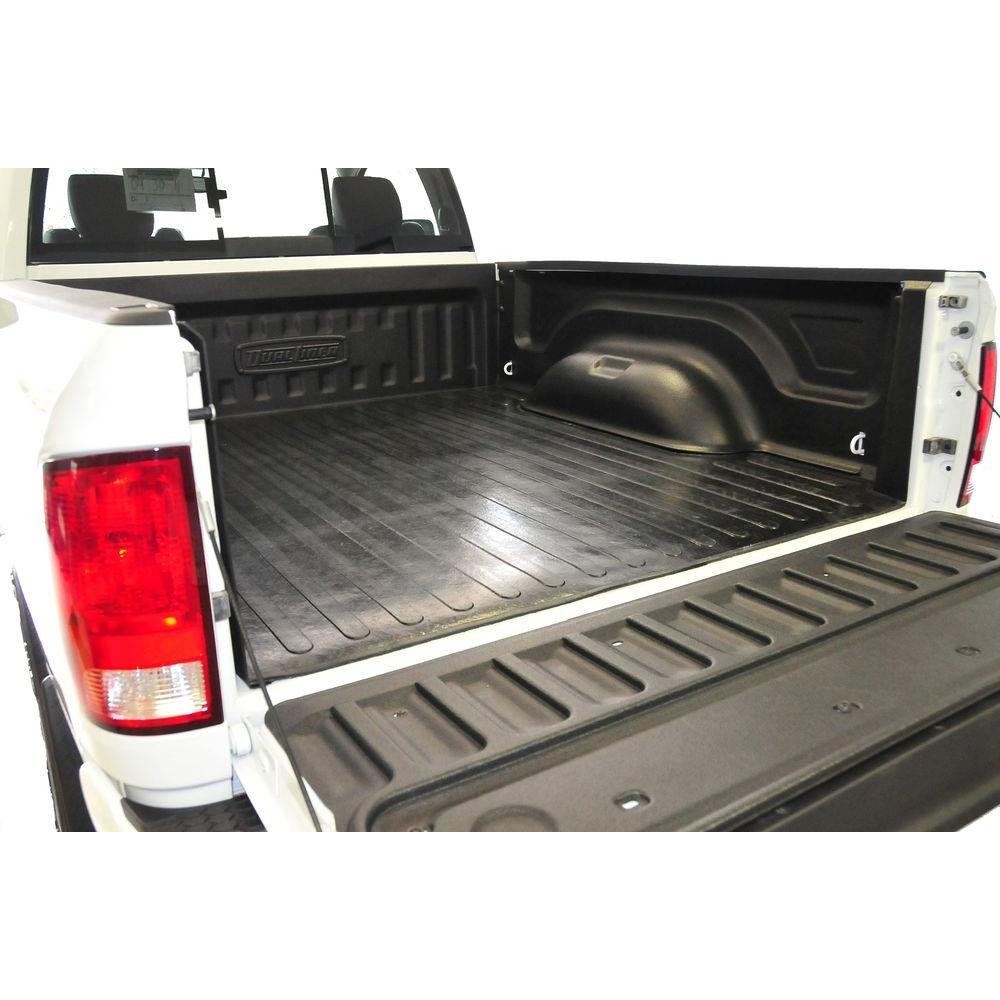 Truck Bed Liner System with Rubber Floor, Fits 2016 Dodge Ram