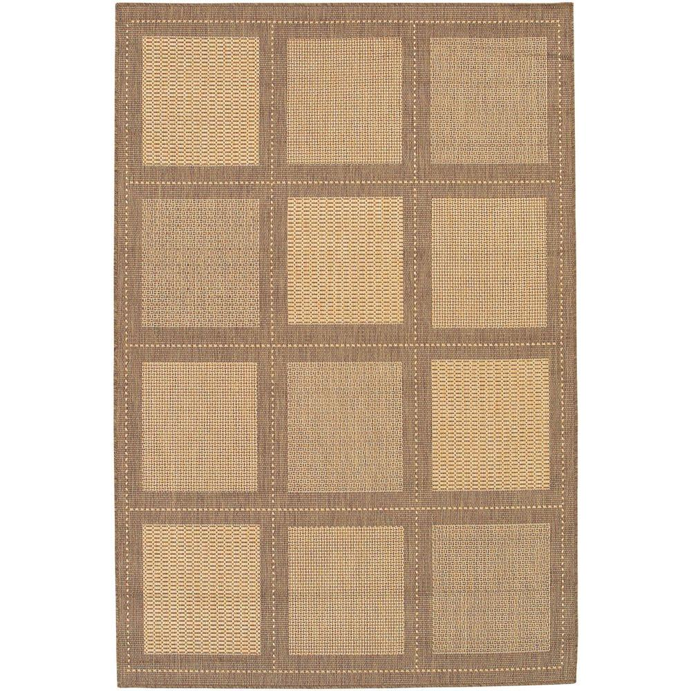 Couristan Recife Summit Natural Cocoa 5 ft. 3 in. x 7 ft. 6 in. Area Rug