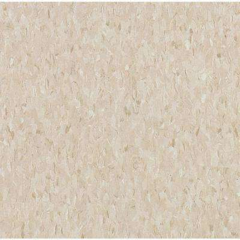 Take Home Sample - Imperial Texture Vinyl Composition Tile Standard Excelon Pebble Tan Vinyl Tile - 6 in. x 6 in.